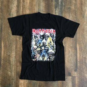Iron Maiden 70s Rock Band Tee